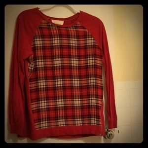 Vince Camuto Red Top Size xs